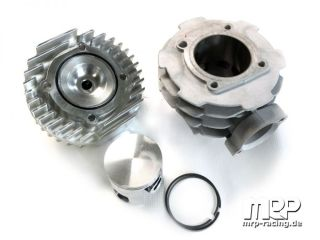 Malossi 172 cylinderkit with MRP cylinderhead (Vespa T5)